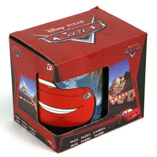 Tasse Disney Cars dans une boîte cadeau