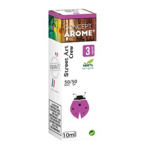 Conceptarôme - E-liquide Mixte Prenium – Crew 3 mg.