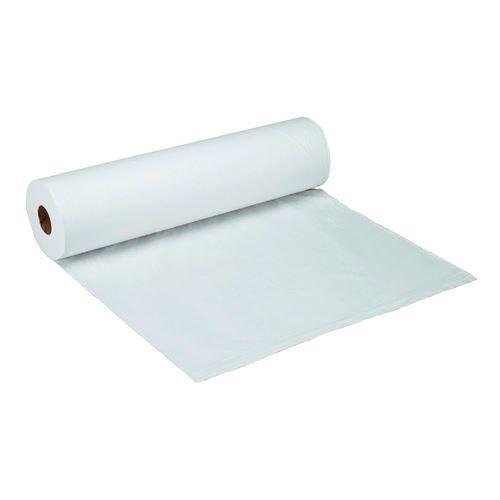 Drap d'examen Supersoft format prédécoupé 50 x 32 cm - Carton de 9 - Blanc