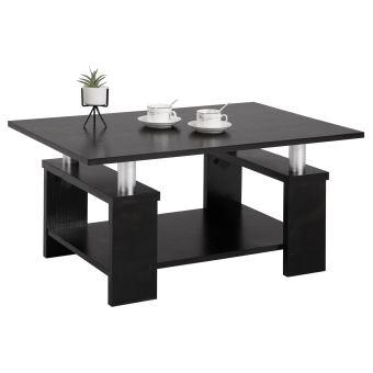 Table basse de salon PERCY table d\'appoint rectangulaire ...