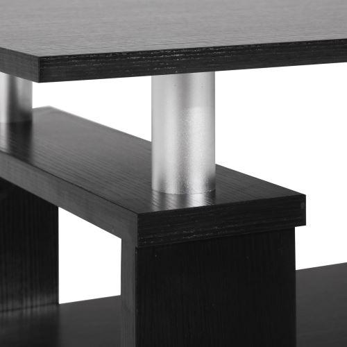 Table basse de salon PERCY table d\'appoint rectangulaire avec ...