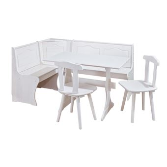 120 Sur Coin Repas Table Rectangulaire Chaise Banc Banquette Meuble