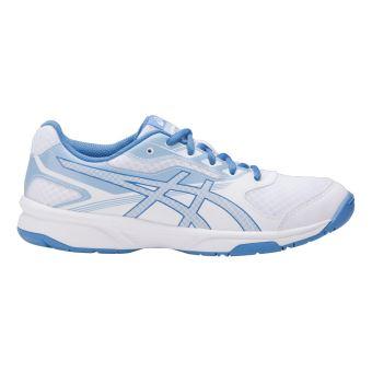 Asics Chaussures femme  Upcourt 2 blanc/bleu électrique/bleu ciel - Chaussures Chaussures-de-sport Femme