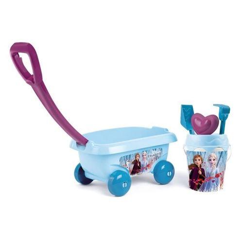 Chariot à roulettes Smoby La Reine des Neiges 2
