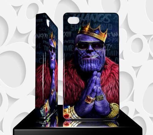 Coque Design Iphone 4 AVENGERS Thanos Ref 50