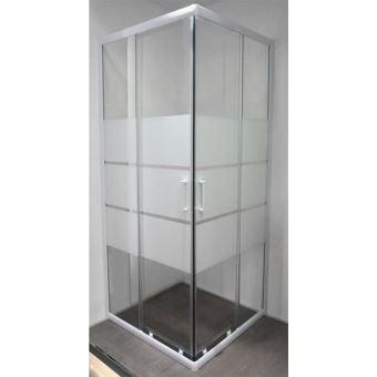 paroi de douche angle coulissant s rigraphi 80 cm siam installations salles de bain achat. Black Bedroom Furniture Sets. Home Design Ideas