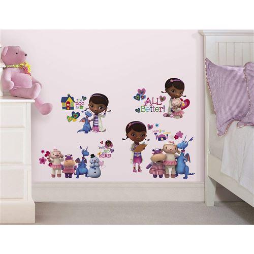 Thedecofactory RMK2280SCS Stickers Disney Docteur McStuffins Roommates Repositionnables (27 Stickers), Vinyle, Multicolore, 104 x 26 x 2.5 cm