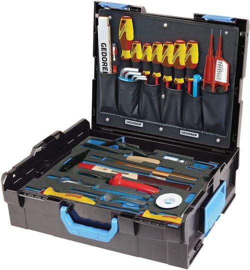 Gedore 1100-02 Electrician Assortiment d'outils 36 pièces, Multicolore