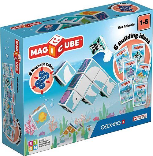Geomag MagiCube Jungle Animals junior 14-pièces