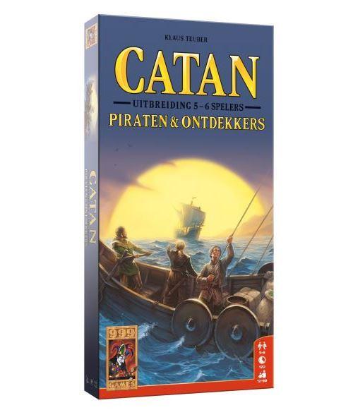 999 Games extension de Catan : Pirates & Découvertes 5/6 joueurs