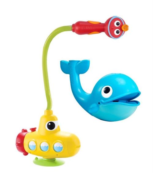 Yookidoo jouets de bain Submarine Spray Whale 39 cm