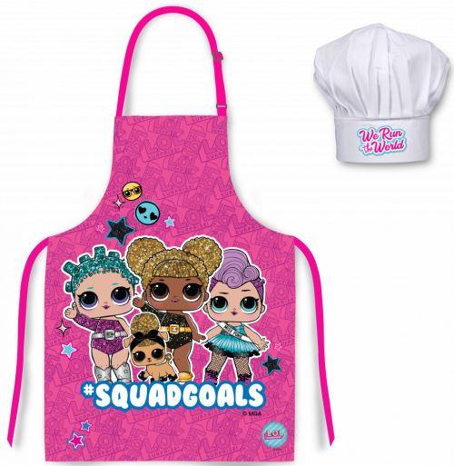 Tablier de Cuisine pour Enfants Tabliers Enfants (Lol)