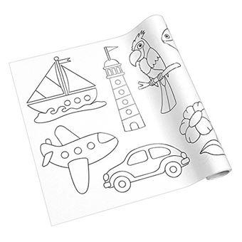 Un Grand Plaisir De Coloriage Livre De Coloriage Rouleau De Coloriage Adhesif Pour Enfants A Partir De 2 Ans Creation Originale Bricoler Window Color Crayon De Couleur Et Feutres Achat