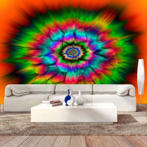 Papier peint - Kaleidoscope Of Colours .Taille : 100x70