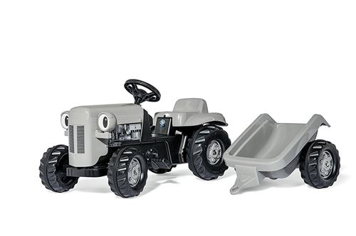 Rolly Toys tracteur escalier RollyKid Litlle Grey Fergie gris junior