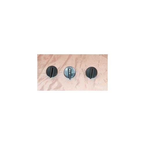 Bouton gris pour mini four moulinex