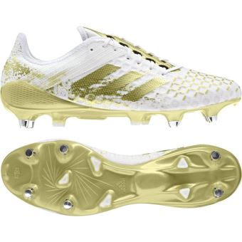 Chaussure Rugby Adidas Predator Malice Blanche Taille : 46