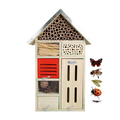 Hotel à insectes moyen modele