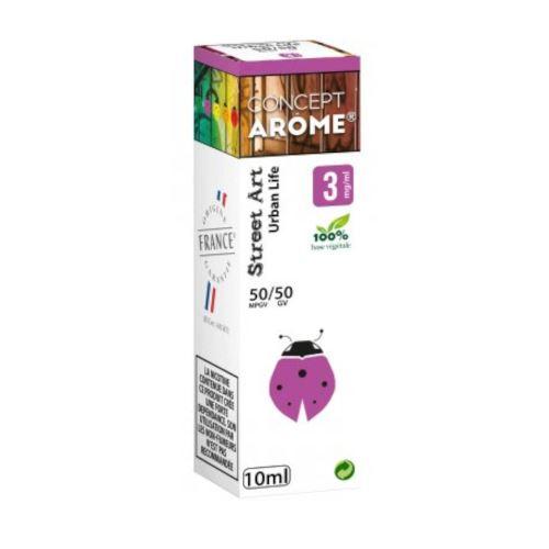 Conceptarôme - E-liquide Mixte Prenium – Urban Life 3 mg.