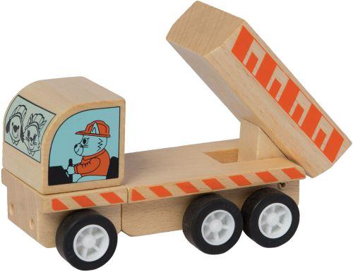Manhattan Toy benne Varoom junior 10 cm bois naturel