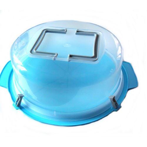Cloche à gâteau 30 cm transport tarte poignée