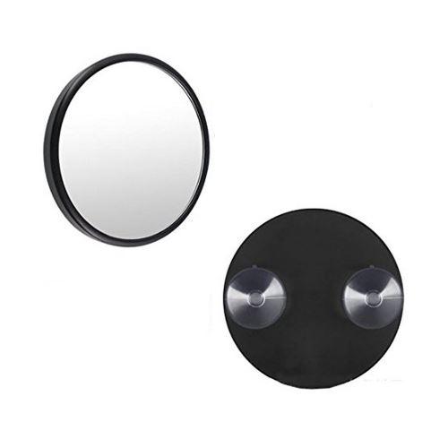 Miroir grossissant x5 avec ventouse noir new