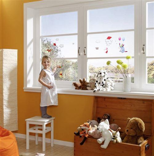 13 Stickers pour vitre Winnie l'Ourson Disney et ses amis