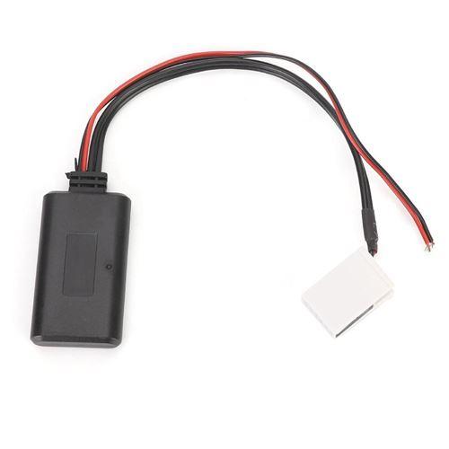 Câble audio Adaptateur de câble AUX stéréo de radio audio de module Bluetooth pour E63 E64 2003-2010
