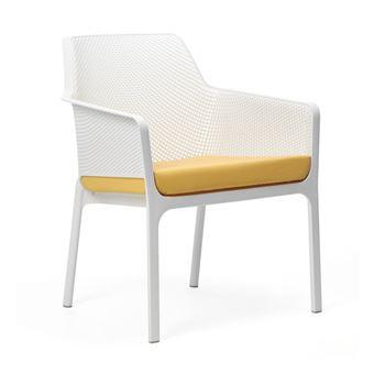 Coussin de chaise de jardin design et coloré net relax nardi