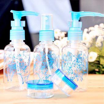 12 bouteilles en plastique vide Voyage-Set Voyage cosmétiques soins Set avion cabine