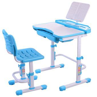 11 Sur Nidouillet Ensemble Bureau Et Chaise Enfants Hauteur Reglable Table Avec Tiroir AB002