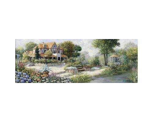 Puzzle 1000 Pièces : Peter Motz : Cottage Anglais, Art Puzzle
