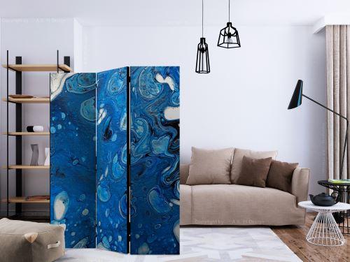 135x172 Paravent 3 volets Paravents 3 volets Stylé Blue Stream [Room Dividers]