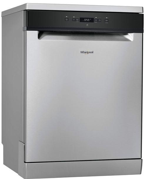 Whirlpool Supreme Clean WFC3C24X - Lave-vaisselle - pose libre - largeur : 60 cm - profondeur : 59.5 cm - hauteur : 85 cm