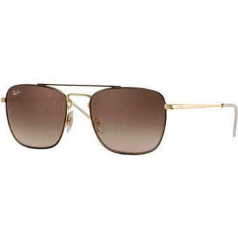 8a14425a8f -27€80 sur Ray-ban rb3588 marron or marron dégradé - 55 - brun - Lunettes -  Achat & prix   fnac