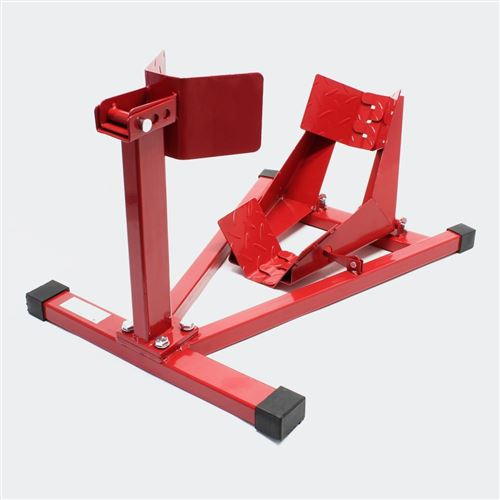 Support de moto pour roue avant pied de montage 110-130 mm
