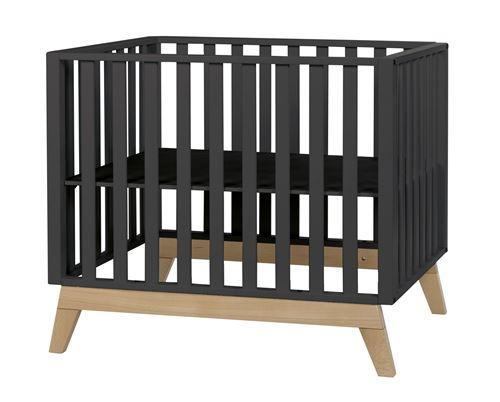 Pericles baby box Malmo98 x 78 cm noir