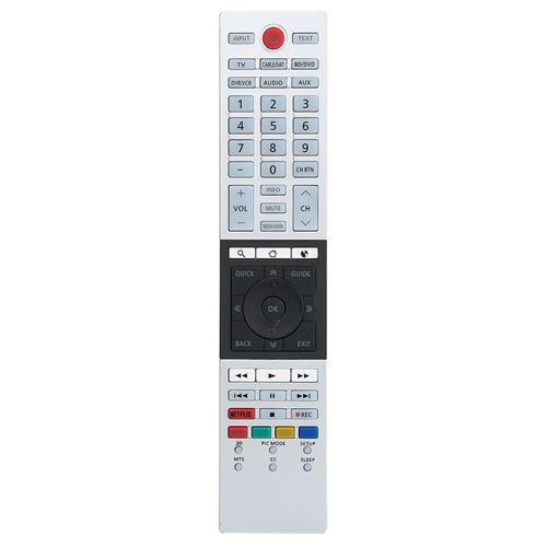 Télécommande de Smart TV Ultra HD pour Toshiba CT-90430 CT-90429