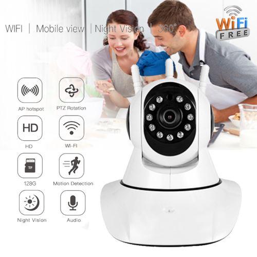 Accueil Sécurité 720P Accueil IP sans fil intelligent WiFi Audio Caméra de surveillance CCTV AU