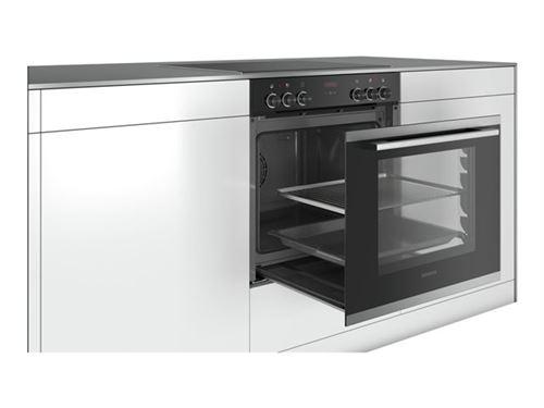 Siemens iQ300 EQ211KB00 - Four avec plaque de cuisson - intégrable - inox/noir