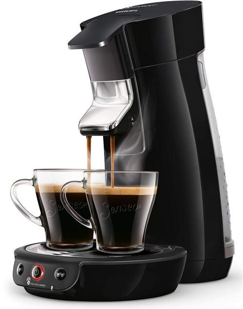 Cafetière à dosette ou capsule Philips Senseo Viva Café HD6563/61 1450 W Noir
