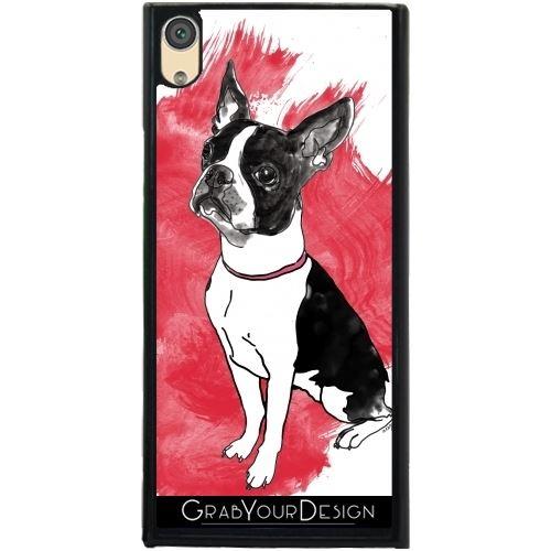 coque iphone 7 chien terrier de boston