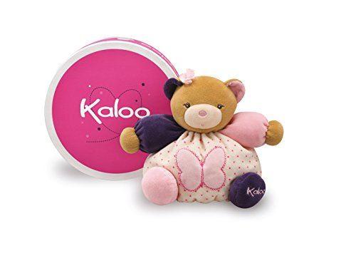 Kaloo Petite Rose Petit Ours Avec Papillon
