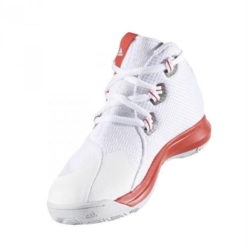 adidas Chaussure de Basketball Light EM UP 2017 Blanc pour
