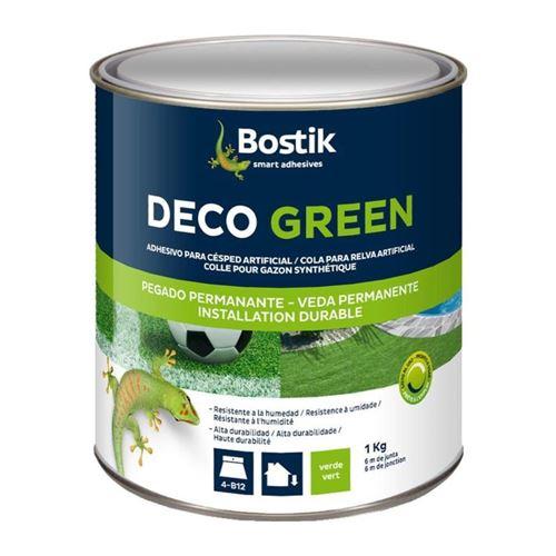 Colle gazon synthétique deco green 1kg verte