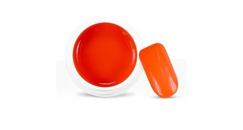 Gel uv / led couleur néon orange - 5 ml