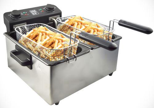 Friteuse électrique cuve amovible inox 6L Senya Family Fryer SYCK-DF006
