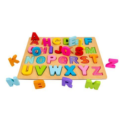 Puzzle Blocs de construction Conseil alphanumérique Illumination Scratch Board bébé - Multicolore