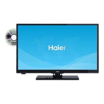 haier leh24v100d classe 24 tv led avec lecteur dvd. Black Bedroom Furniture Sets. Home Design Ideas