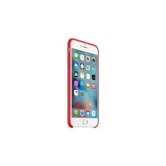 coque apple iphone 6 rouge silicone